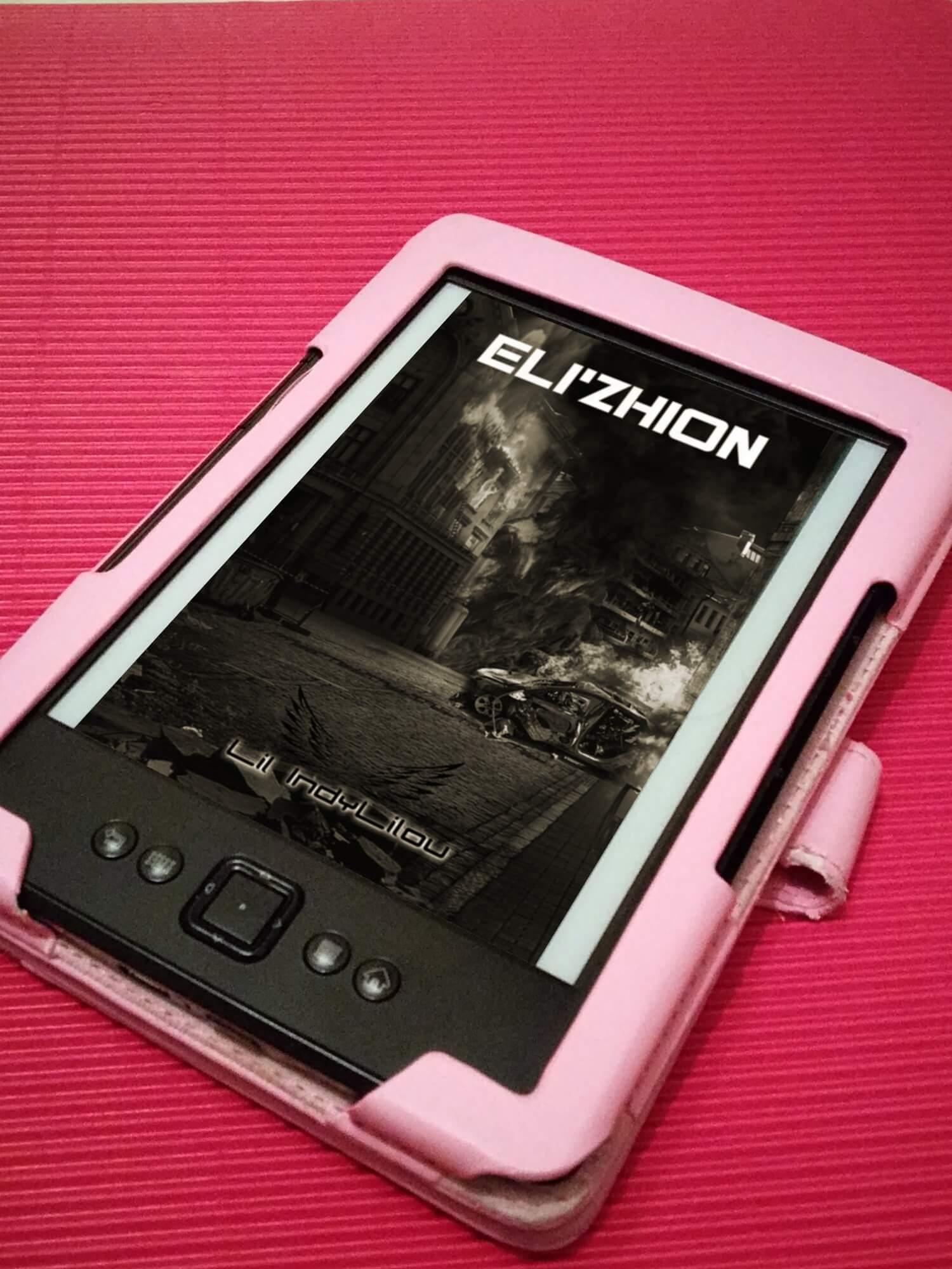 Couverture du roman : Eli'Zhion