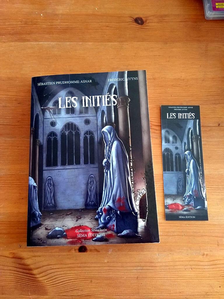 Les Initiés - Sébastien Prudhomme-Asnar & Frédéric Livyns